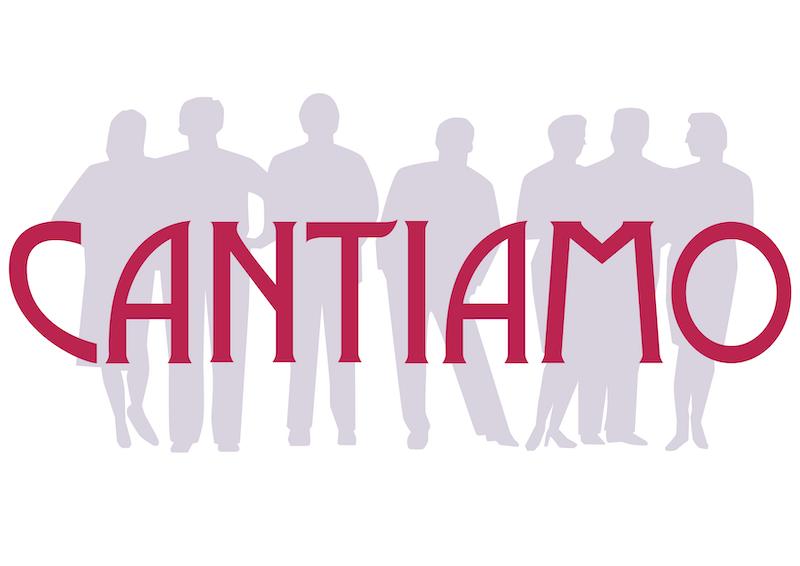 het logo van kamerkoor Cantiamo uit Krimpen aan de IJssel